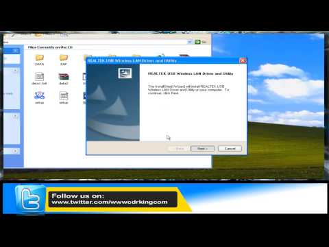 Wireless-N USB Network Adapter (300Mbps) (WU-NETA-024-CC) Windows XP