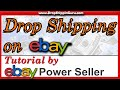 How to Sell on eBay Drop Shipping | Beginners Tutorial on Dropshipping on eBay