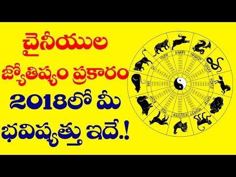 Know Your FUTURE Based on Chinese Astrology   Chinese Astrology 2018   Horoscope   VTube Telugu