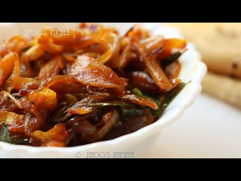 fried onion masala recipe | bachelor recipe for chapathi | simple masala Onion fry