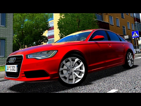 City Car Driving 1.5.3 Audi A6 2.0 TFSI Logitech G27 [1080p][60fps]