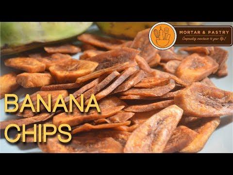 BANANA CHIPS | How To Make Easy Banana Chips At Home | Ep. 19 | Mortar & Pastry