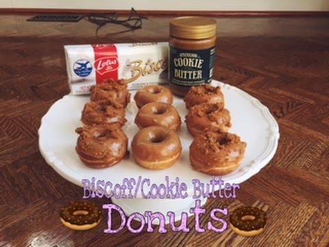 Biscoff/Cookie Butter Donut Recipe