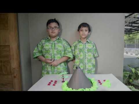 How to make volcano erupt