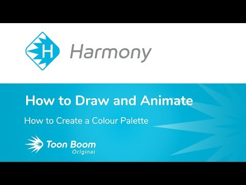 How to Create a Colour Palette Using Harmony