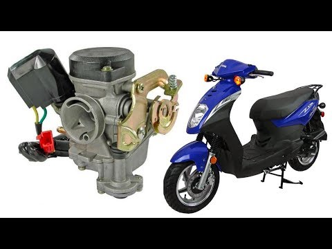 How to clean the carburetor in a 50cc chinese scooter