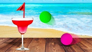 HOLE IN ONE ON A BEACH! (Golf It)