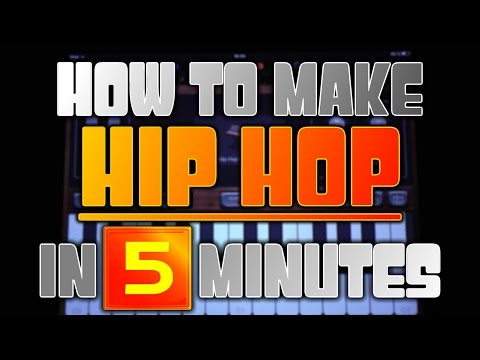 How to make Hip Hop/Rap in Garageband in 5 minutes (iPad & iPhone)