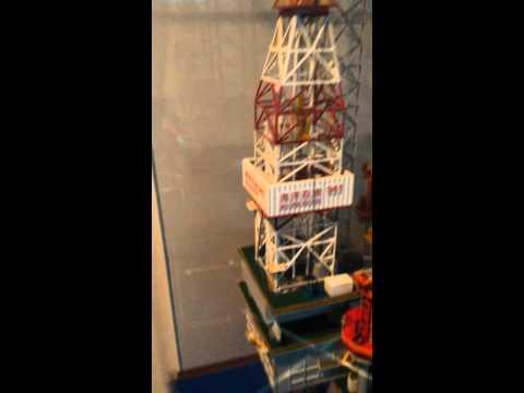 鑽油台模型 Oil Rig model
