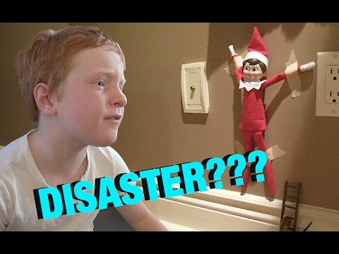 🎄🎅🏼 Elf on the Shelf DISASTER!  🎅🏼🎄 vlog e141