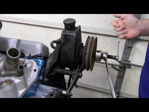 GM Power Steering Pully Remove