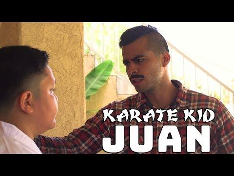 Karate Kid Juan | David Lopez