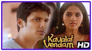 Download Latest Tamil Movies   Kavalai Vendam Movie Scenes   Jiiva loses his memory   Kajal Aggarwal Video