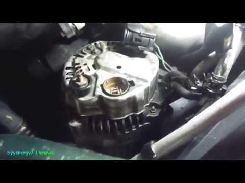 Chrysler Sebring, Alternator Removal