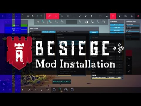 How to Install Mods in Besiege 0.42b - 0.45a (for MV version read desc) | Besiege Quick Guide