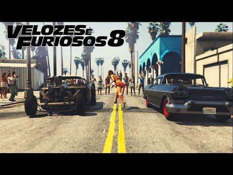 GTA 5   VELOZES E FURIOSOS 8 CUBA RACE (Assistindo)