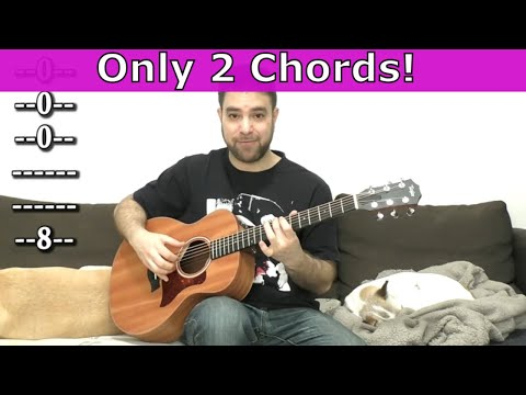 How to Make Beautiful Music with Only Two Simple Chords - Guitar Lesson w/ TAB