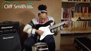 Download 'Overrated' - Rockschool Grade 3 Guitar: Fifi (guitar pupil of Cliff Smith) Video