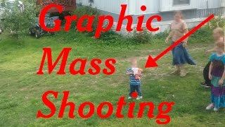 2017 Mass Shooting by kid with fully automatic high powered water rifle