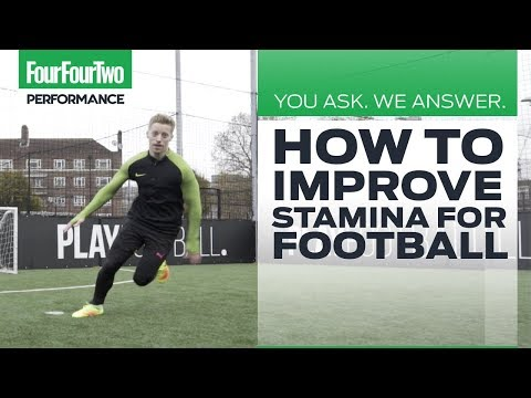 How to build stamina and improve endurance for football | You Ask, We Answer