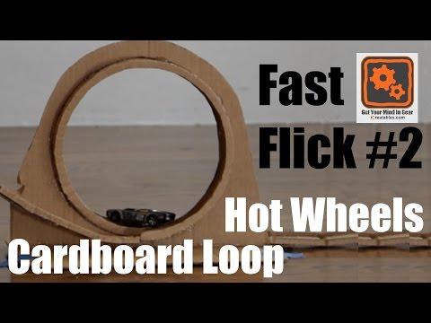 Hot Wheels Cardboard Loop Trailer