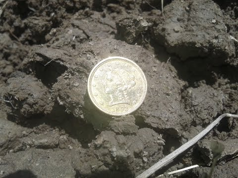 #31 GOLD COIN!!! Amazing coins found metal detecting! XP Deus, Garrett AT Pro