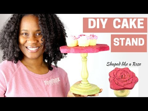 Easy DIY Cake Stand (2018) | For Valentine's Day or Wedding