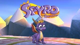 Spyro The Dragon - Complete 120% Walkthrough (all Dragons, Gems & Eggs) Hd
