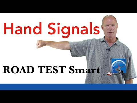 How to Use Hand Signals For a Driver's License Test | Road Test Smart