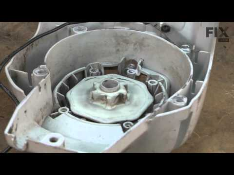 Ryobi Trimmer Repair - How to replace the Recoil Pulley Assembly