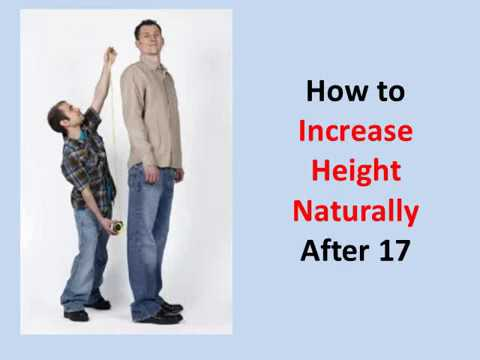 How to Increase Height Naturally After 17 (Guaranteed!)