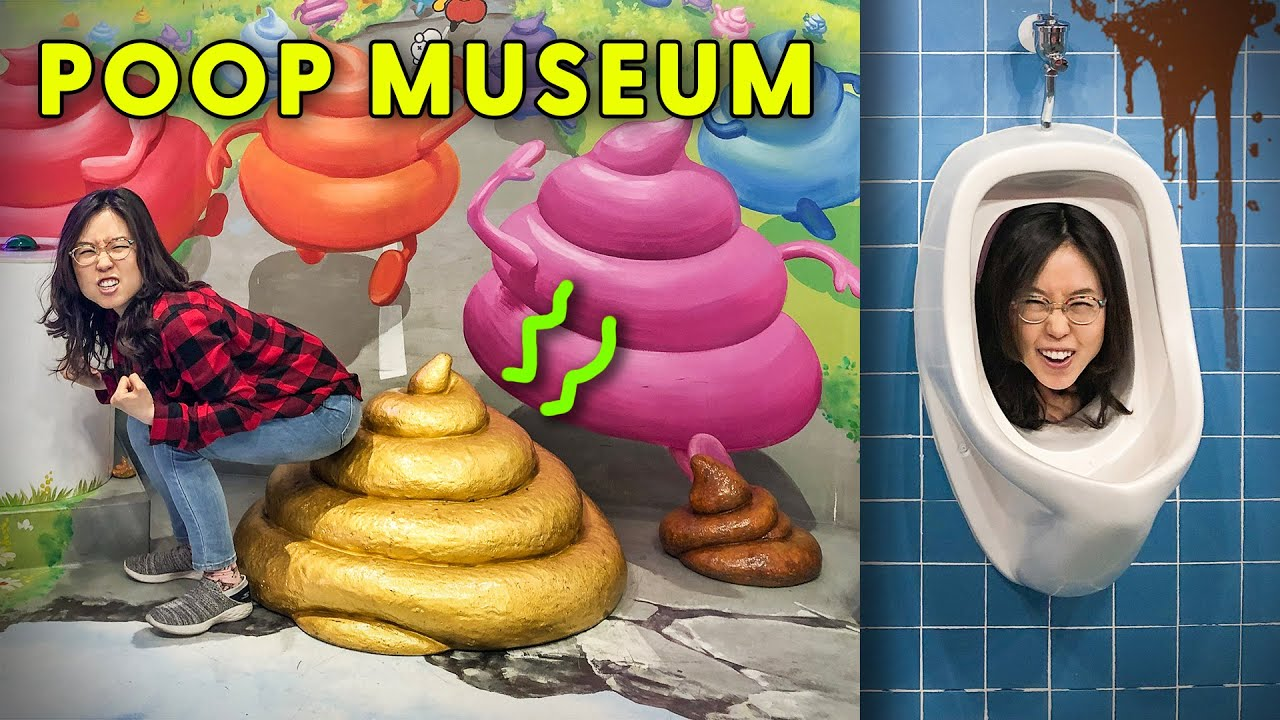 POOP MUSEUM IN KOREA 💩 Seoul Day 5