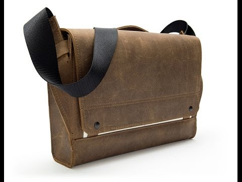 Rough Rider Leather Messenger Bag by WaterField Designs