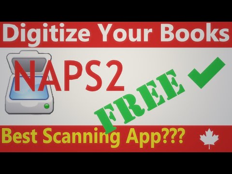 3 NAPS2 (Not Another PDF Scanner 2) best software when scanning your books