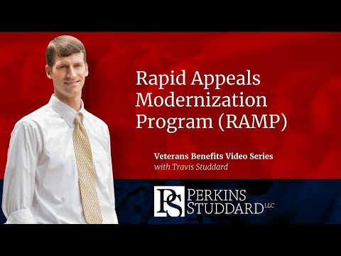 Rapid Appeals Modernization Program (RAMP)