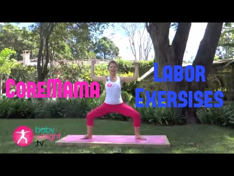 CoreMama Prenatal Labor Exercises (Preview)
