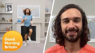 Joe Wicks Reveals How Much His PE Videos Have Made amp He39s Donating It All Good Morning Britain