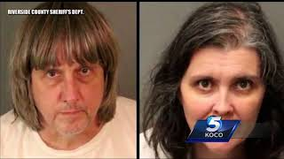 Report: California parents accused of torturing 13 children planned to move to Oklahoma