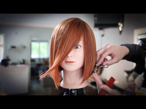 Classic A-Line Bob Haircut Tutorial | MATT BECK VLOG 47