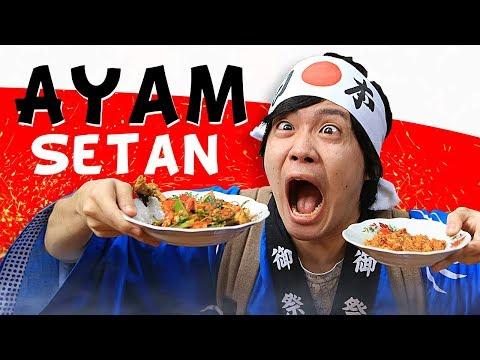 GENKI KESETANAN AYAM SETAN!!! - SPICY JOURNEY #1