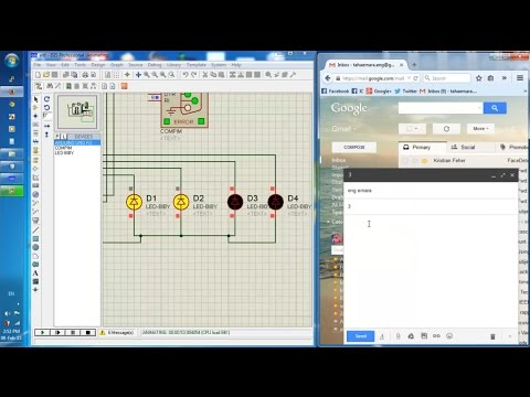 Control Arduino through Gmail Messages