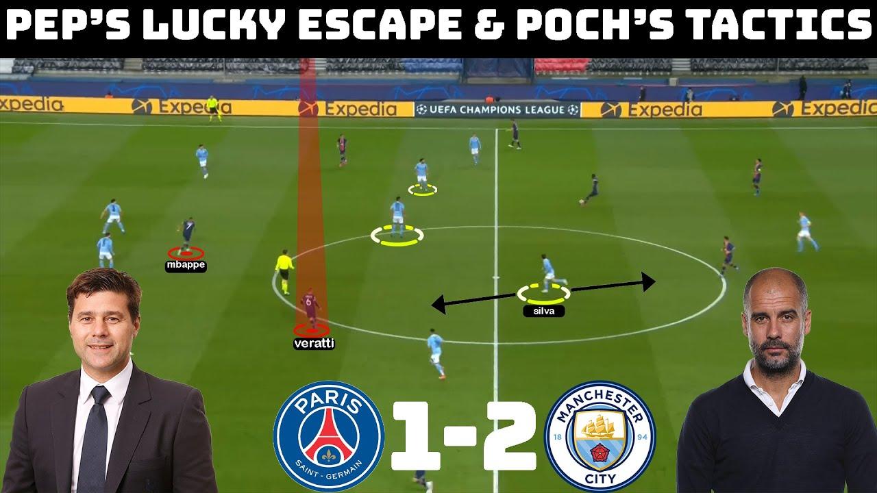 Tactical Analysis : PSG 1 - 2 Manchester City | Pochettino & Guardiola's Tactical Battle |