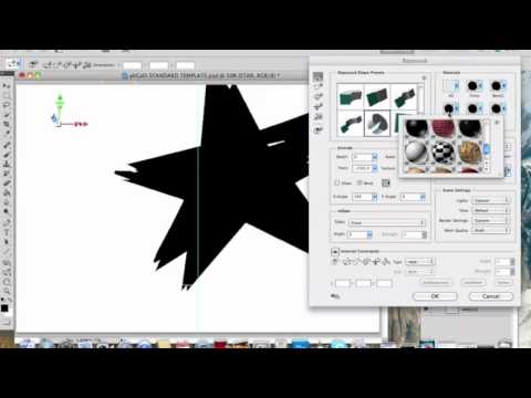 3D Star In PhotoShop CS5