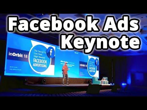 InOrbit 2018 Facebook Advertising Speech - The $5 Per Day Facebook Advertising System