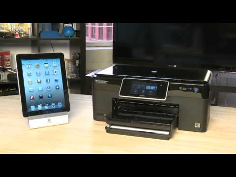 Using AirPrint on the iPad