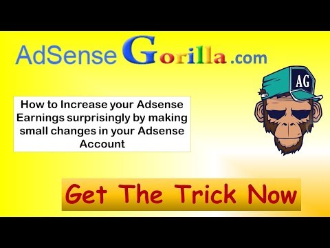 How to Increase AdSense CPC | Increase AdSense Earnings & CPC [100% Working]