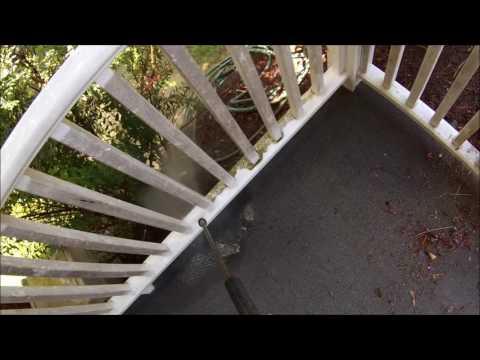 HOW TO: Powerwash a Porch Railing