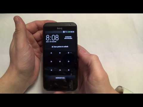 How To Remove Pattern/pin password Lock off HTC Desire 300