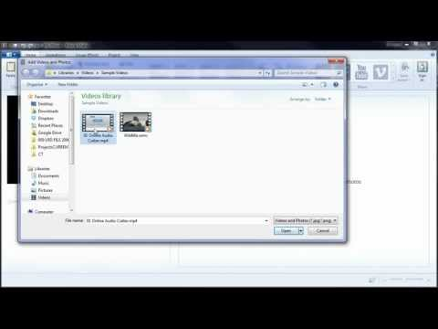 01 - How to import and trim video - Windows Movie Maker