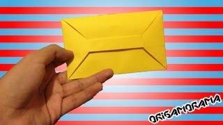 Este tutorial muestra cómo hacer un sobre para cartas SIN la NECESIDAD de usar ninguna clase de pegamento. Está muy sencillito y es un buen detalle para almacenar cartitas de amor y cosas así.  ------------------------------------------------------------------------------------------------------ #CARTASPLEGABLES: http://www.youtube.com/playlist?list=PLDHTn8ZH1FNMDEEAmwB6S8lOLwUMnZ-lz  ORIGAMI DE ENAMORADOS: http://www.youtube.com/playlist?list=PLB264F3D6EBBF56E1&  SUSCRÍBETE A MI SEGUNDO CANAL! http://www.youtube.com/pastragames  SÍGUEME en:  TUITER: http://www.twitter.com/origamorama FÉISBUC: http://www.facebook.com/origamorama  ------Detalles de esta figura------  - HOJAS: Papel para impresión a color o blanco (se compra en cualquier papelería). Gramaje de 75g/m2 - MEDIDAS: Hoja tamaño carta (aprox 21x27cm)  Música de Kevin MacLeod - incompetech.com